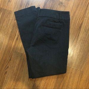 Loft Outlet modern skinny ankle gray pants 6